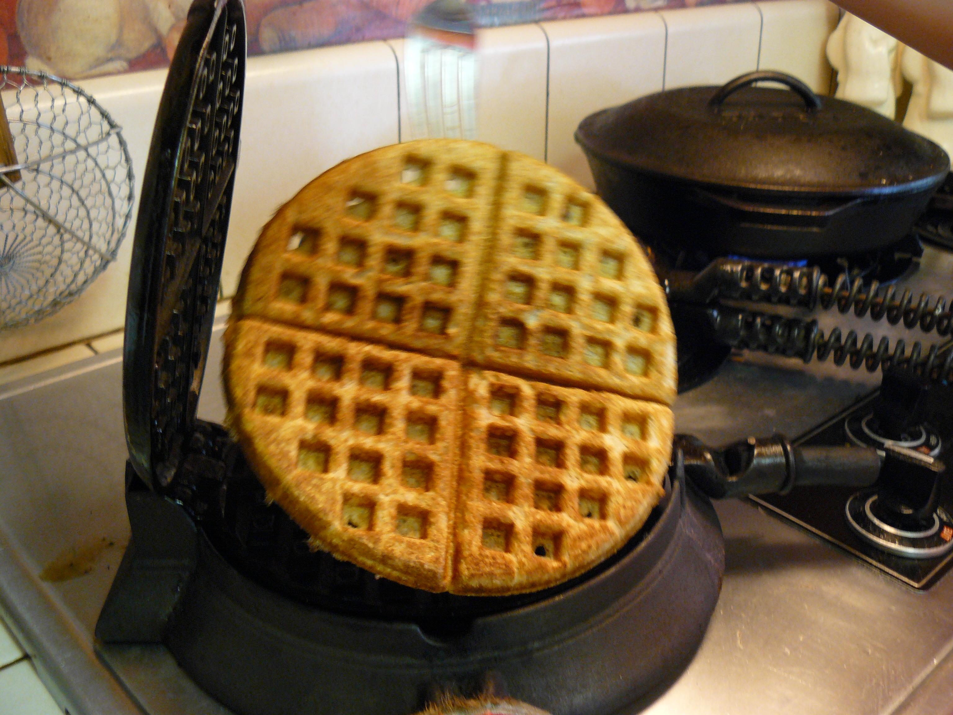 Lifting waffle